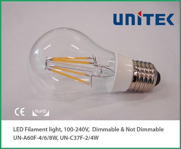 CE RoHS_LED Filament Bube