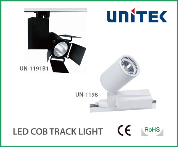 High CRI CE COB_LED Track Light